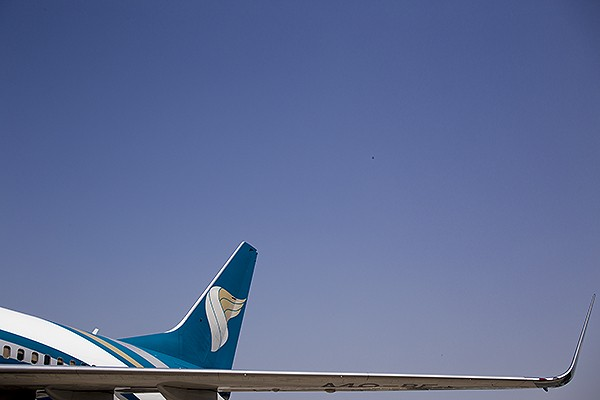 Oman, Flugzeug